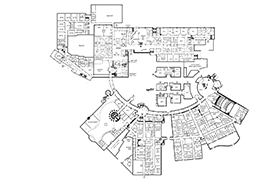 buildings and room numbers campus map